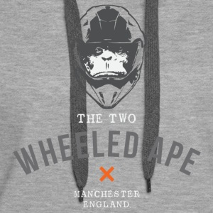 Two Wheeled Ape X Design Mitte - Frauen Premium Hoodie