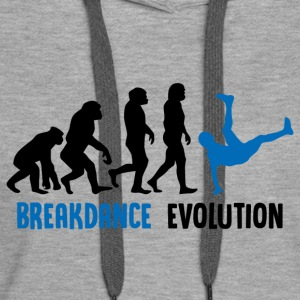++ ++ Breakdance Evolution - Women's Premium Hoodie