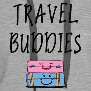 Travel buddies - Women's Premium Hoodie