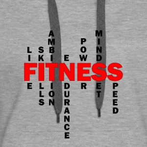 Wolf-FIT Definition Fitness - Frauen Premium Hoodie