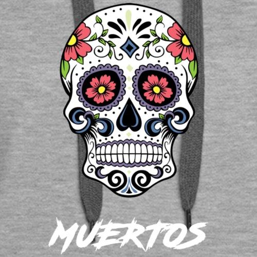 CandySkull - Sweat-shirt à capuche Premium pour femmes