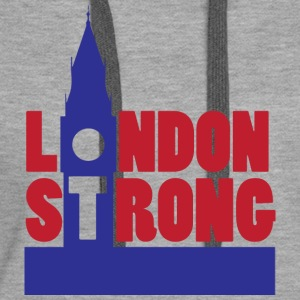 London Strong I - Women's Premium Hoodie