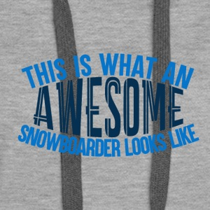 Awesome Boarder - Boarder Power - Frauen Premium Hoodie