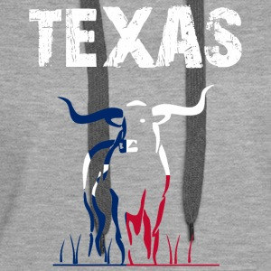 Nation-Design Texas Longhorn - Frauen Premium Hoodie