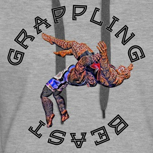 Grappling Beast (ape vs jaguar) - Sweat-shirt à capuche Premium pour femmes