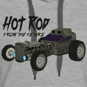 Hot Rod from the future v3 Kmlf style - Sweat-shirt à capuche Premium pour femmes