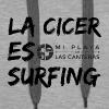 La Cicer es surfing - Sudadera con capucha premium para mujer