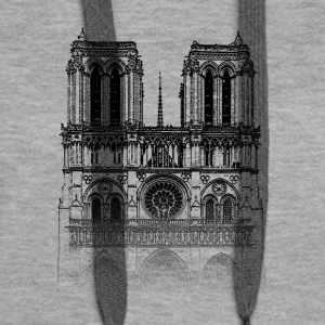 Around The World: Notre Dame - Paris - Women's Premium Hoodie