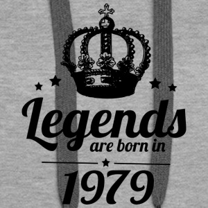 Legends 1979 - Sweat-shirt à capuche Premium pour femmes