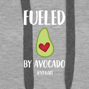 Fueled By Avocado - Frauen Premium Hoodie