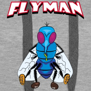 Fly Man - Premium hettegenser for kvinner