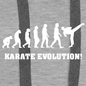 Karate evolution - Women's Premium Hoodie