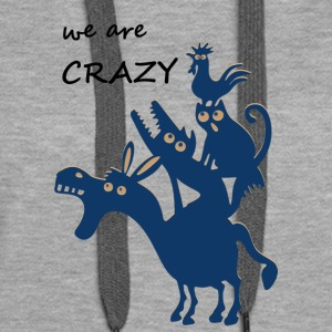 The crazy Bremen city musicians - Women's Premium Hoodie