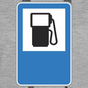 Road sign gas station - Women's Premium Hoodie