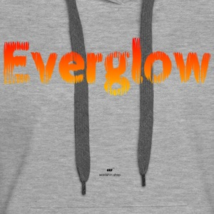 everglow - Sweat-shirt à capuche Premium pour femmes