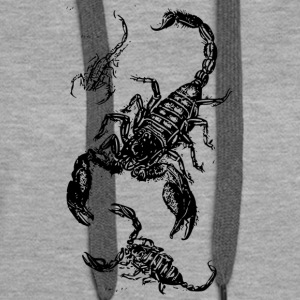 Scorpion Mum and Kids - Women's Premium Hoodie