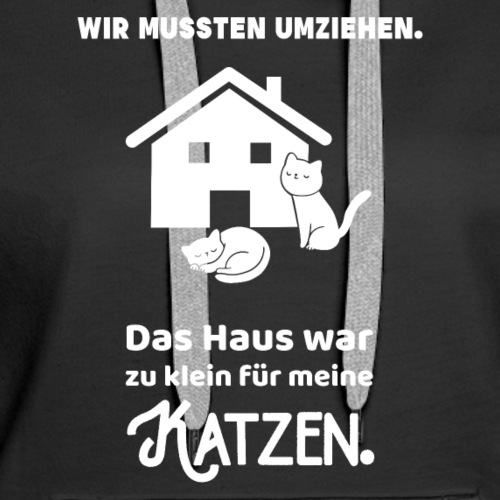 Katzen Haus Umzug Haustiere Geschenk Happy Fun Cat Shirts
