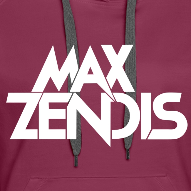 MAX ZENDIS Logo Big - Black/White