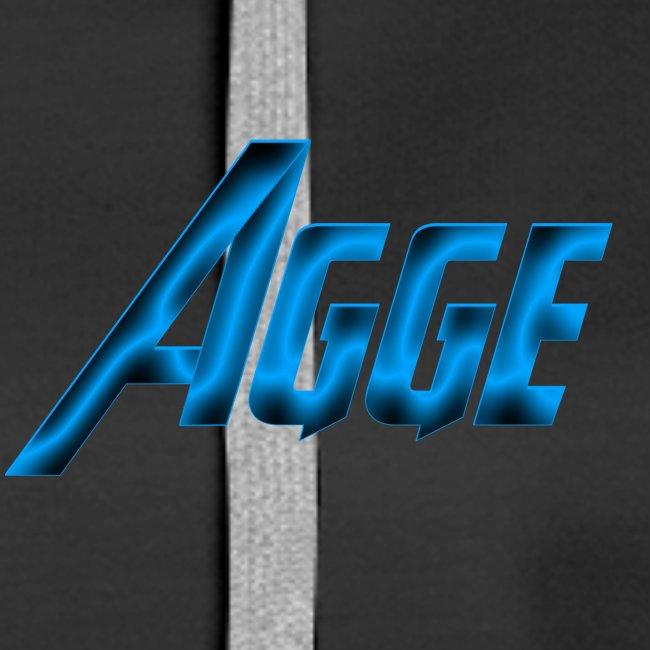 Agge - Blå Logga   Fram