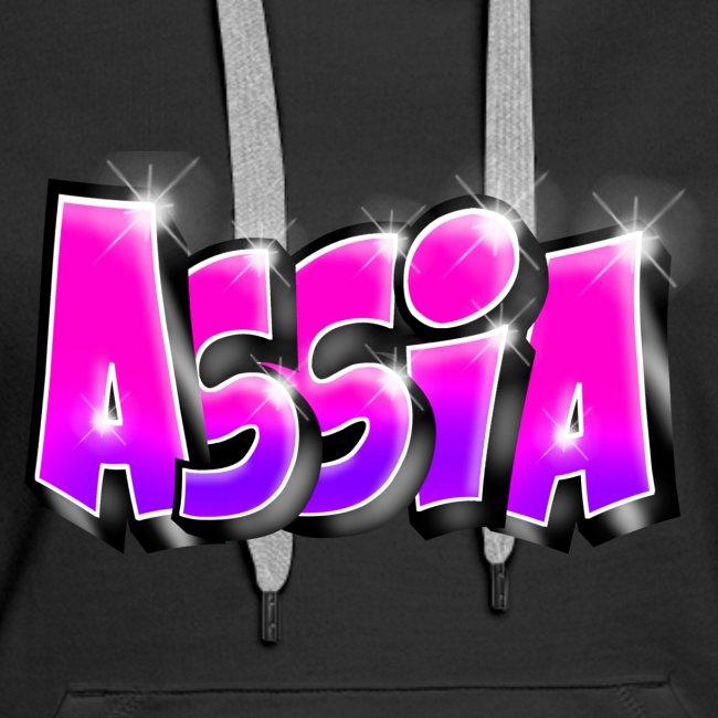 Assia graffiti name printable