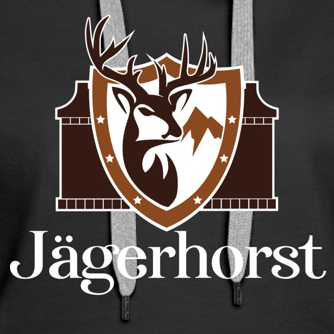 Jägerhorst Logo Weiss