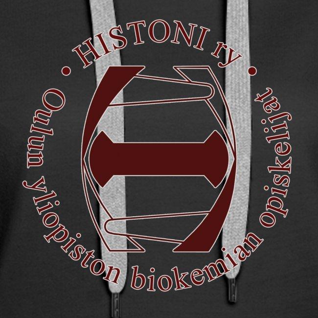 Histoni logo punainen stroke
