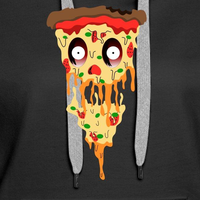 Schockierte Horror Pizza