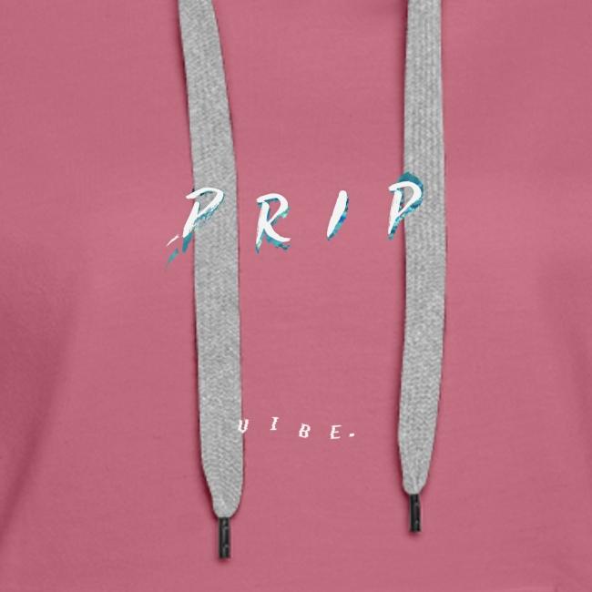 VIBE. 'D R I P' White Design
