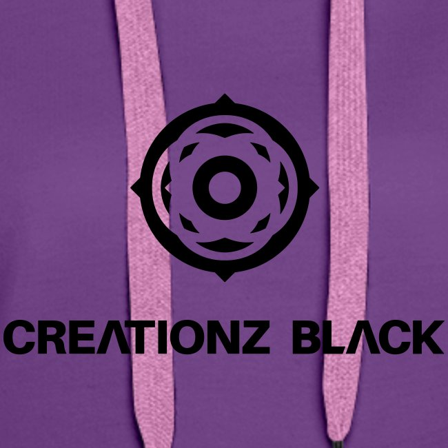 LOGO CREATIONZ BLACK