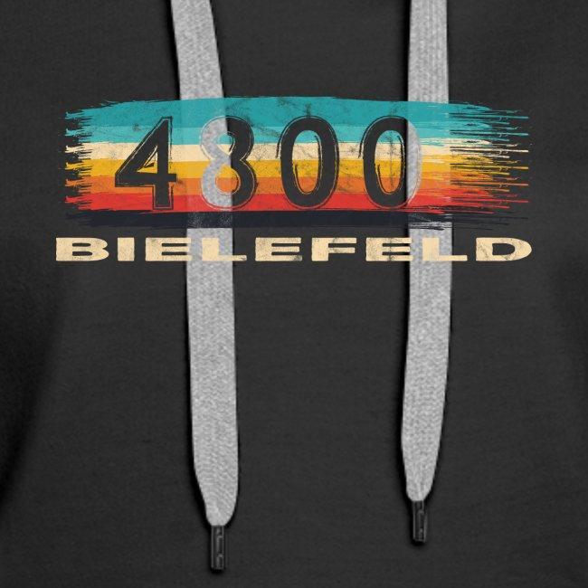 Bielefeld 4800 Retro PLZ Postleitzahl