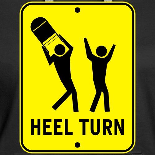 Vector Heel Turn - Women's Premium Hoodie