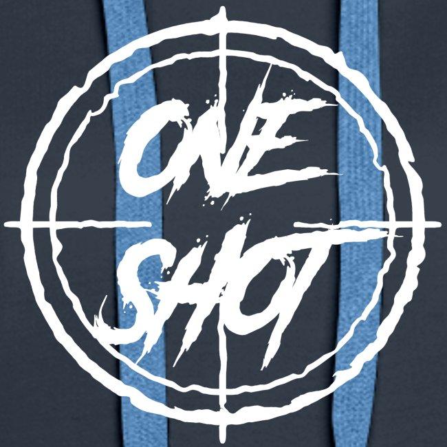 Oneshot Logo White