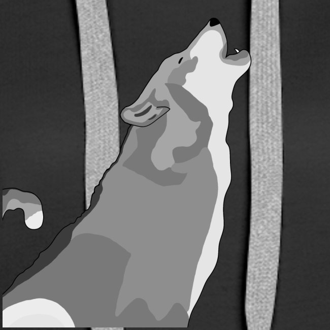 Wolf heulend