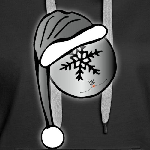 Weihnachtskugel - Frauen Premium Hoodie