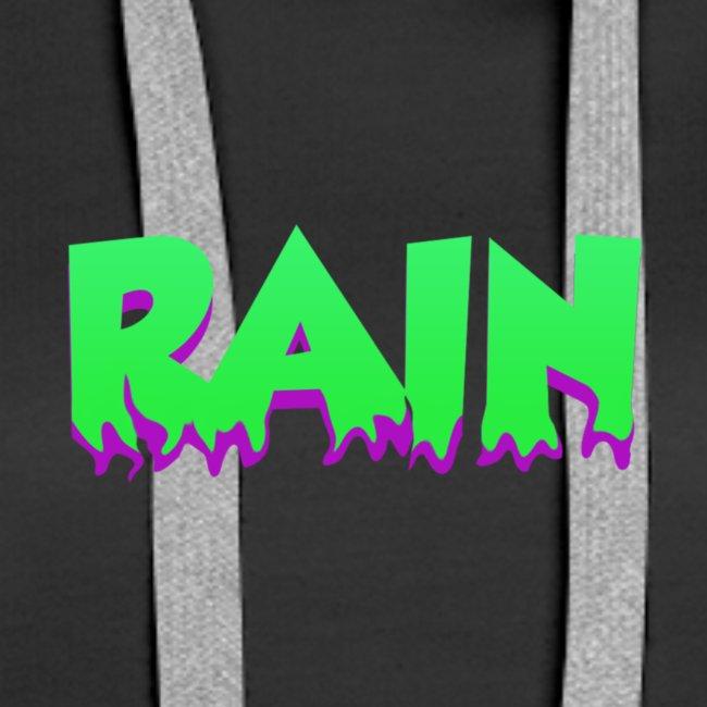 Rain Hoodie 3 Black