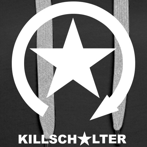 KILLSCHALTER Logo - Bluza damska Premium z kapturem