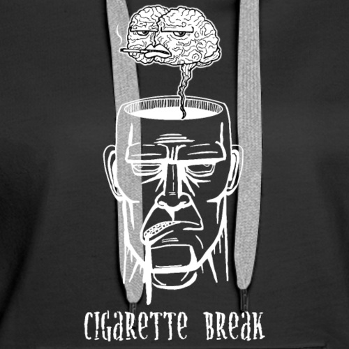 Cigarette Break - Frauen Premium Hoodie