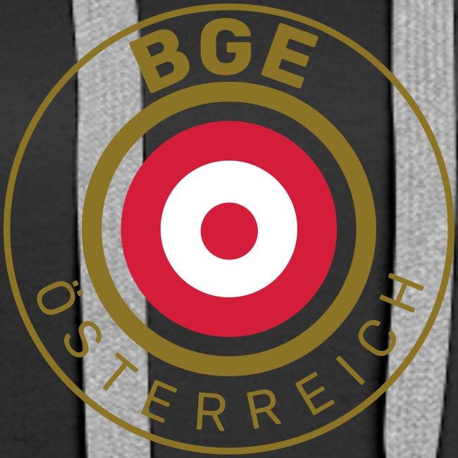 BGE in Österreich mit Fahne