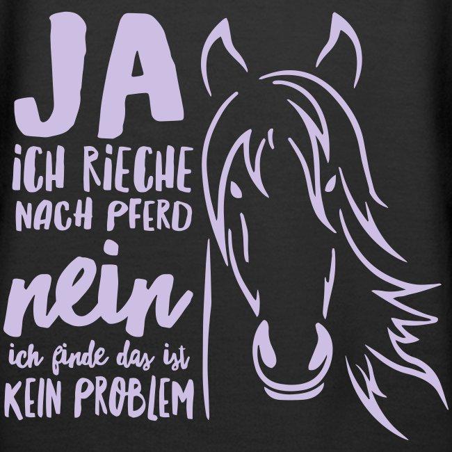 Vorschau: ja ich rieche nach Pferd - Frauen Premium Hoodie