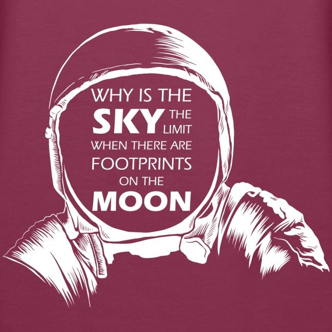 Astronaut - Footprints on the Moon