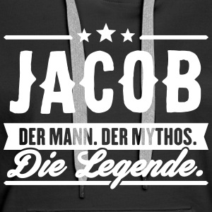 Mann Mythos Legende Jacob - Frauen Premium Hoodie