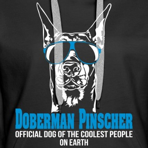 DOBERMAN PINSCHER coolest people - Doberman - Women's Premium Hoodie