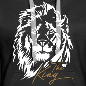 Der Löwe - The King - Frauen Premium Hoodie