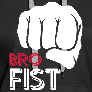 For your brother from another mother - Bro Fist - Women's Premium Hoodie