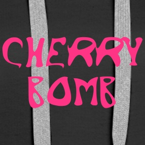 Cherry Bomb Graffiti - Premium hettegenser for kvinner