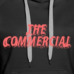 The Commercial Design #1 (Salmon - Women's Premium Hoodie