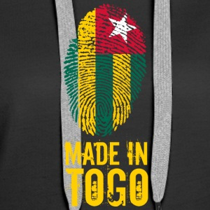 Made In Togo - Sweat-shirt à capuche Premium pour femmes