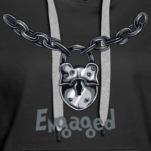 Engaged Chained - Women's Premium Hoodie
