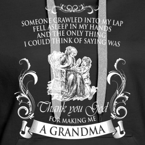 Shirt for grandmothers - Women's Premium Hoodie