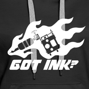 Got Ink? - Tattoo - Felpa con cappuccio premium da donna